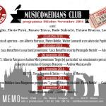 MUSICOMEDIANS CLUB  Jam session di musici, poeti e giullari