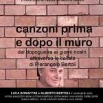 Da MUSICOMEDIANS CLUB alle 'CANZONI PRIMA e DOPO il MURO' con LUCA BONAFFINI