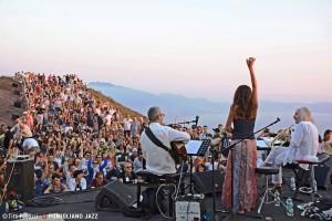 Enrico Rava, Maria Pia De Vito, Roberto Taufic - Sarau sull Vesuvio - Pomigliano Jazz Festival 2015 PH © Titti Fabozzi