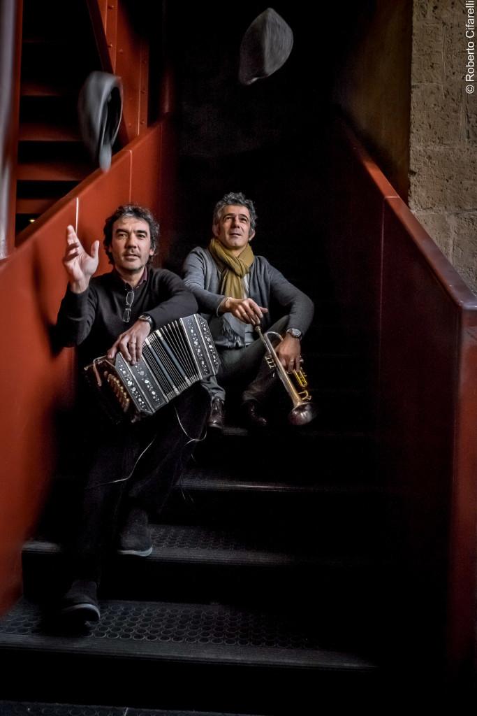 Paolo Fresu & Daniele Di Bonaventura presentano Vesuvio in Maggiore (foto@roberto cifarelli)