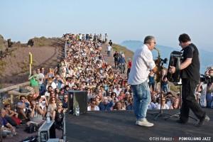 Richard Galliano soloCratere del Vesuvio, NapoliPomigliano Jazz Festival