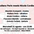 GIULIANO PERIN MEETS NICOLA CORDISCO