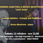 Andrea Sabatino e Bruno Montrone 'Just Duo'